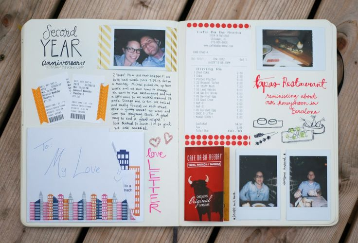see my first year anniversary journaling entry here.     the second year anniversary  was a little more low key that the fi...