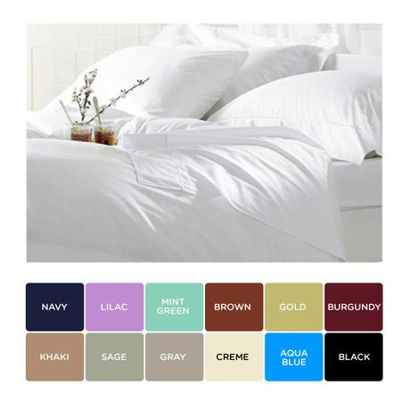 I <3 my bed & Egyptian cotton sheets! www.nomorerack.com