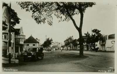 Kajoe Tangan te Malang 1935.