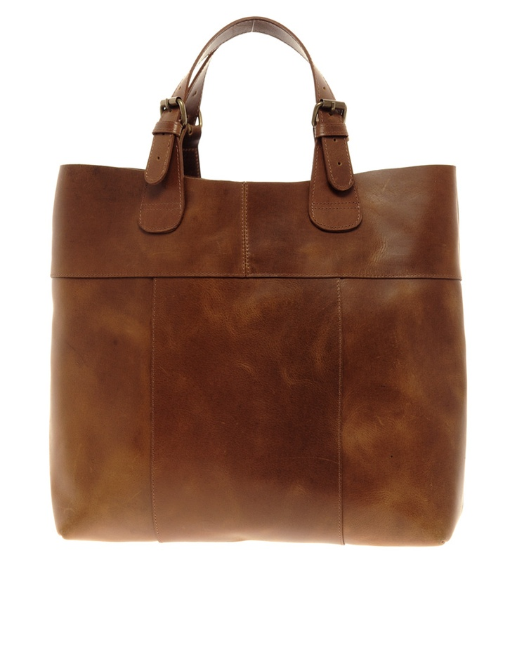 Premium Naysa Leather Shopper / Pieces