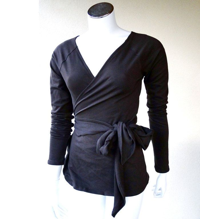 Wrap Around Blouse Ladies