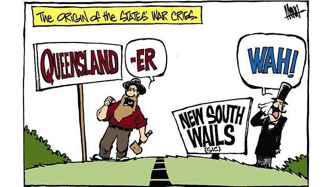 State of Origin. Baha New South Wails