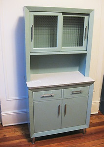 1950 S Vintage Medical Cabinet Custom Made Steel Glass