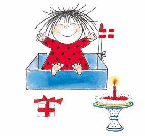 A classic Danish cartoon - can't wait until Noah is big enough to meet Cirkeline!