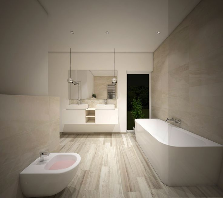 Vizualizacija su Main Stone bei Axis Maple kolekcijomis. #apdailosnamai #bathroom #render #visalization #modern  #interior #marble #wood #mariner #mainstone #white #light #axis #tiles #idea #inspiration #trends