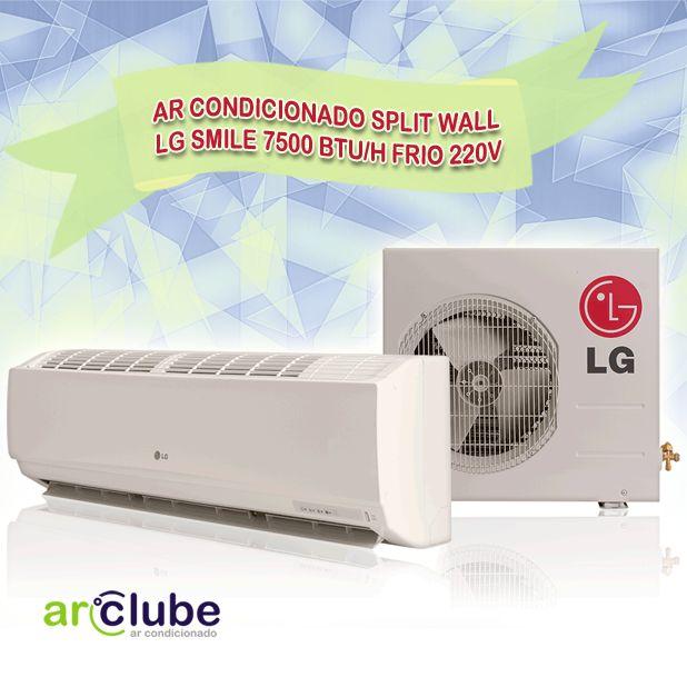 Preço e outras informações: http://www.arclube.com.br/ar-condicionado-split-wall-lg-smile-7500-btu-h-frio-220v.html >> Os melhores modelos da LG você encontra aqui! ~~ Ar Condicionado Split Wall LG Smile 7500 btu/h Frio 220v >> Exclusivo Filtro multiproteção LG com tecnologia 3M. Desumidificação saudável. Resfriamento rápido Jetcool. Operação econômica Energy Saving.