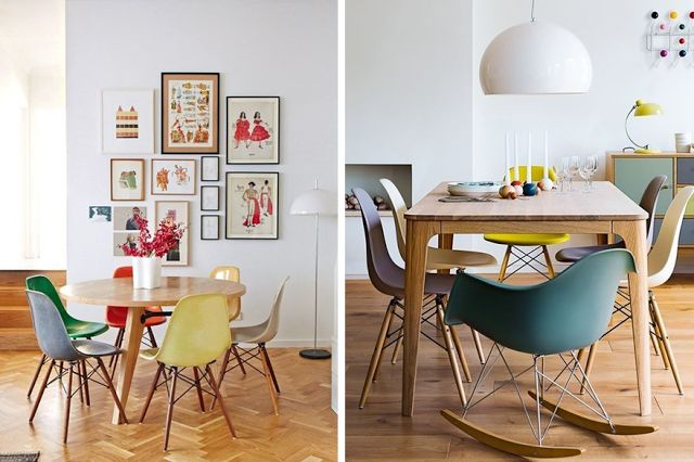 D coration id e inspiration avec chaise de table rar pied for Ou acheter chaise eames