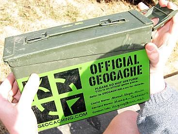Day 65- Let's go geocaching together.