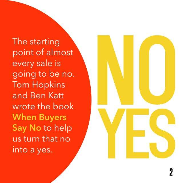 Today's Book Brief: When Buyers Say No. Want the 12-minute version? Get a free www.readitfor.me account.