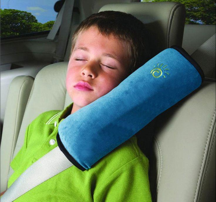 チャイルドシートベルト枕 クッション ドライブ カーグッズ シートベルトショルダーパッド 2本セット