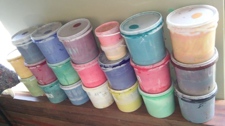 Printing pastes of every colour