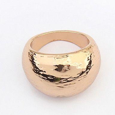 Ringen Bruiloft / Feest / Dagelijks / Causaal Sieraden Kristal / Legering Echtpaar Midiringen 1 stuks,10 Gouden / Zwart / Zilver - EUR € 2.93