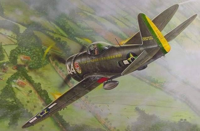 P-47 of the Brazilian Air Force.