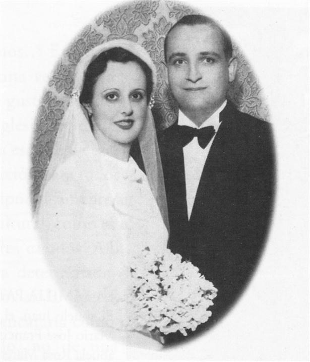 Regina María Sivori & Marío José Bergoglio, parents of Pope Francis.