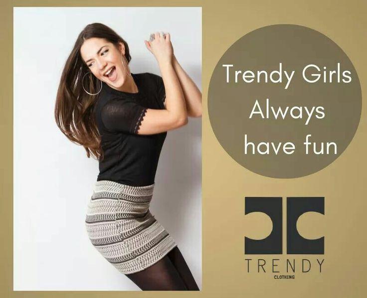 Trendy Girls Always Have Fun!!! Χαρούμενη διάθεση με εμπριμέ φούστα και κοντομάνικο crop-top με λεπτομέρεια δαντέλα!!! Have fun in your trendy outfit!!! #trendyfashion #trendyshop #trendyfashionista #be_trendy  Shop online: top>>http://bit.ly/2hyC9Ek                     φούστα>>http://bit.ly/2irCpJI