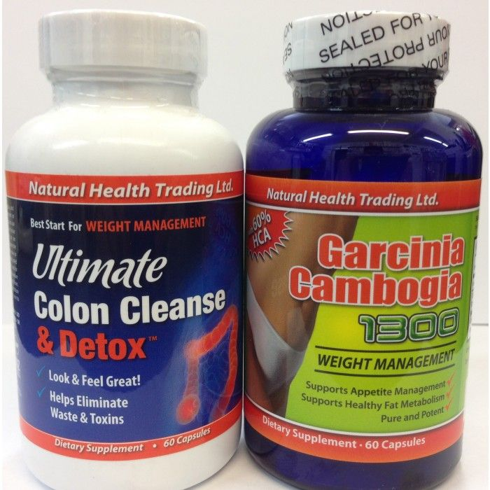 total garcinia cambogia and total colon cleanse reviews