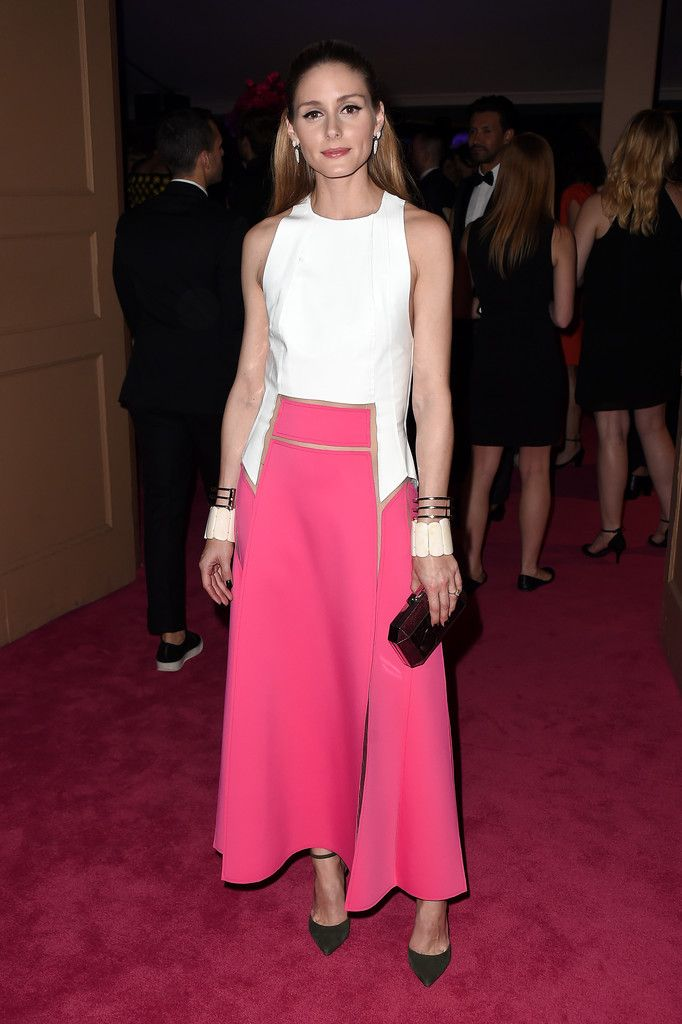 Olivia Palermo attends the 2016 CFDA Fashion Awards at the Hammerstein Ballroom on June 6, 2016 in New York City.