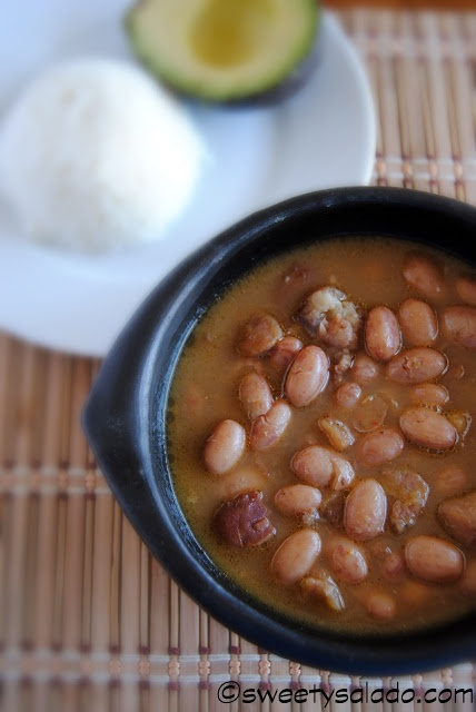 Colombian Beans // Fríjoles Colombianos