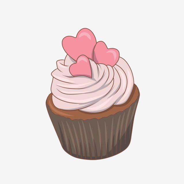Pintado A Mano Dibujos Animados Romantico Amor Postre Pastel Png Y Psd Logotipo De Postres Dibujos De Cupcakes Logotipo De Cupcakes