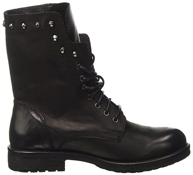 Inuovo Women's Cloud Biker Boots, Schwarz (Vitello Black), 5 5 UK: Amazon.co.uk: Shoes & Bags