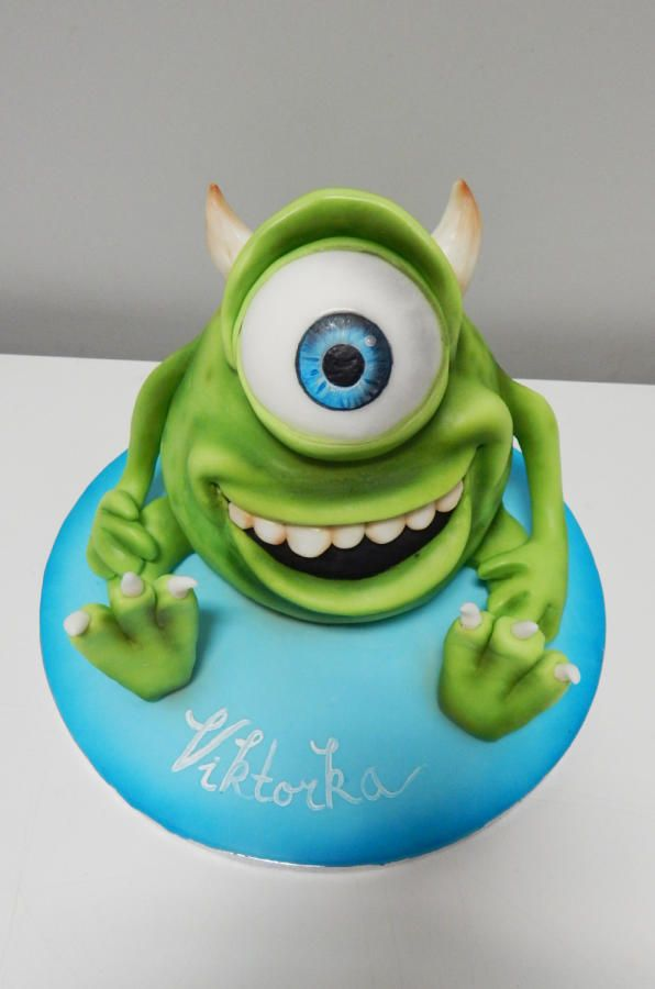 Monsters Inc. Cake - Cake by Lucie Velechovská