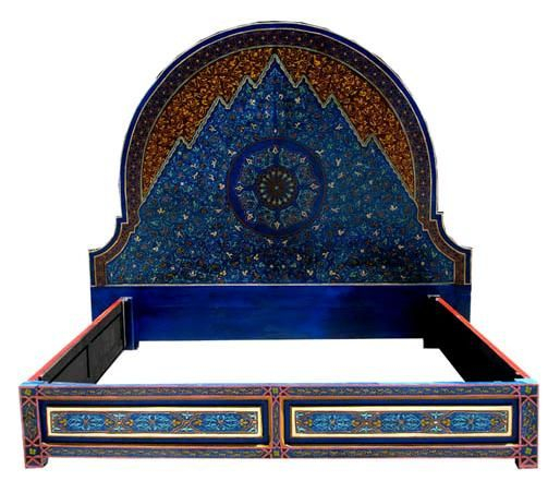 moroccan bed.