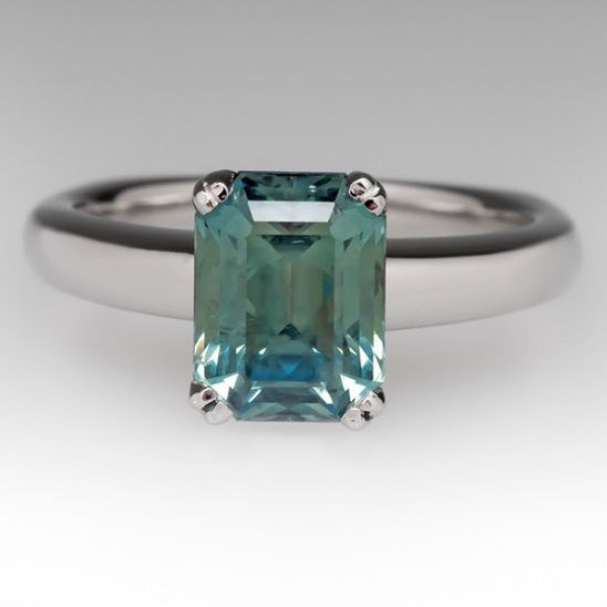 Blue-Green and Montana Sapphire Rings from EraGem