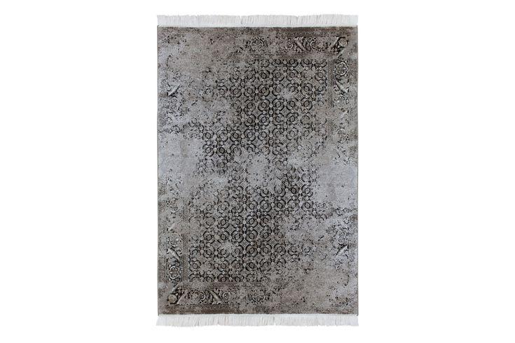 CATAMARCA Larache Orientalisk Matta 200x300 Antracit - Orientaliska mattor