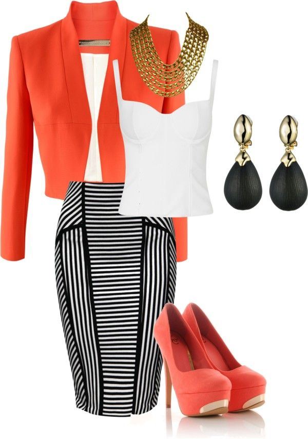 """""""Kicked up Fashion for Work"""" by eamoore on Polyvore"""