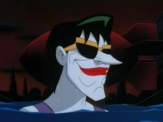 batman the animated series, harlequinade. batman la serie animada, arlequinadas. joker guason