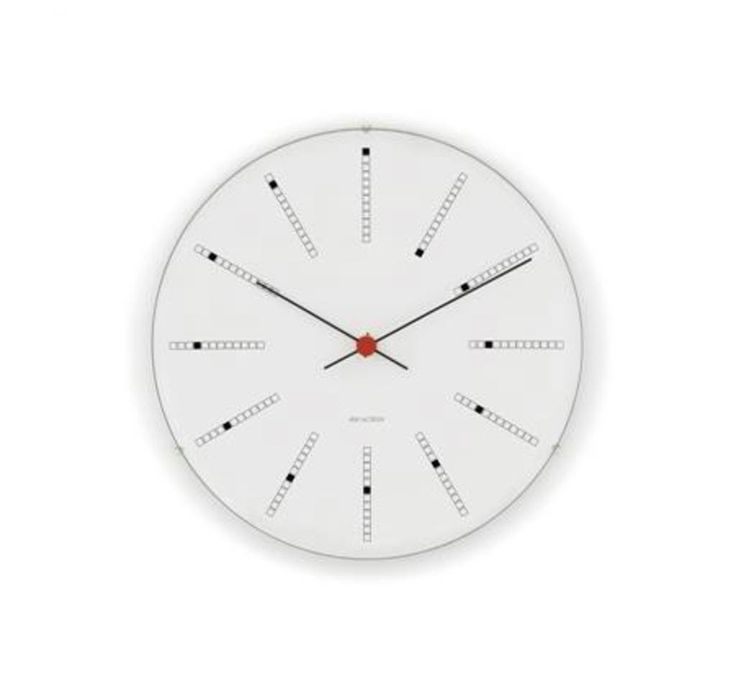 Banker's clock. Designed by famed Danish designer and architect in 1971