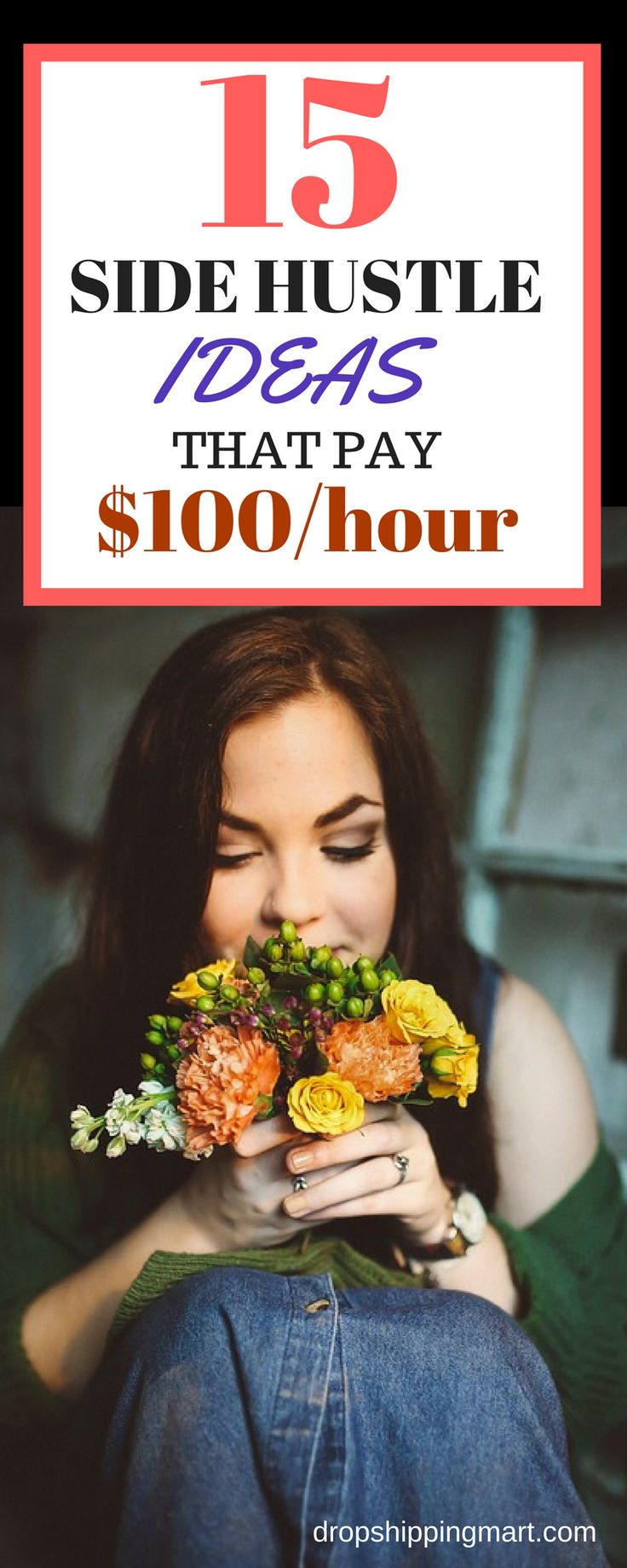 15 side hustle ideas that make money from home.This is a list of 15 easy ways to make extra money from the comfort of your home. Come and read how you can make an extra $100/hr online