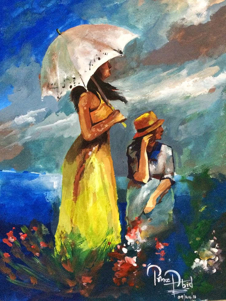 Alhamdulilla beautiful painting for today ...