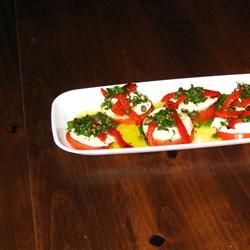 Mozzarella and Tomato Appetizer Tray Allrecipes.com