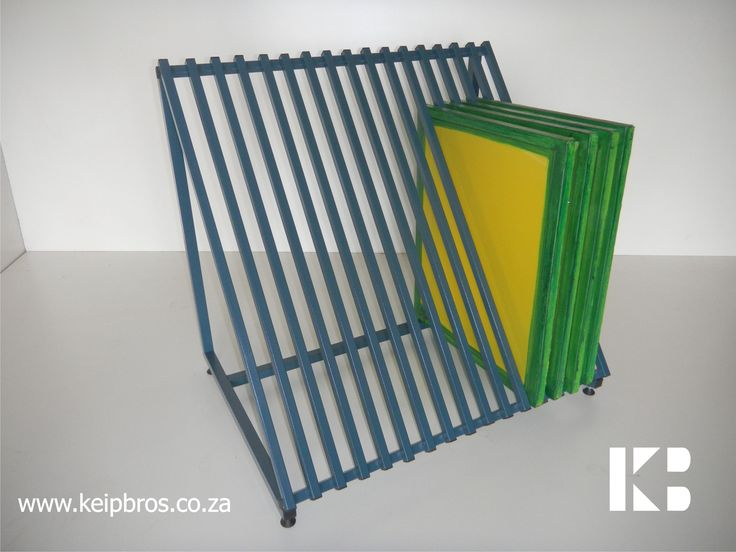 Screen Storage Racks : Screen storage rack silkscreen equipment