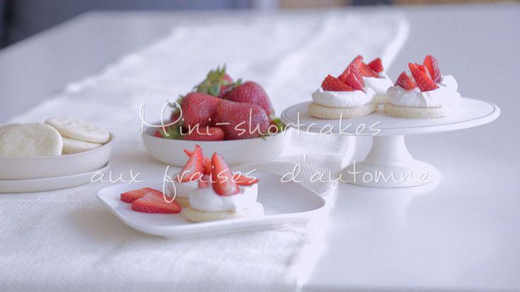 Mini-shortcakes aux fraises d'automne | Cuisine futée, parents pressés