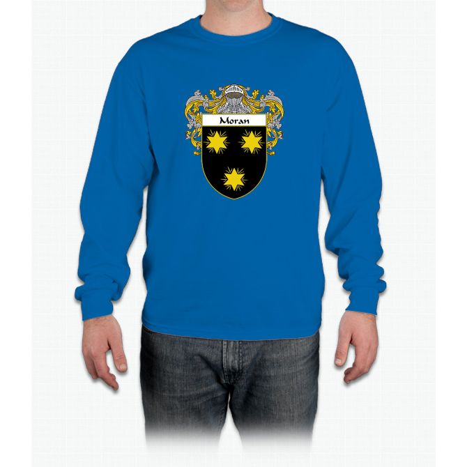 Moran Coat of Arms/Family Crest Long Sleeve T-Shirt
