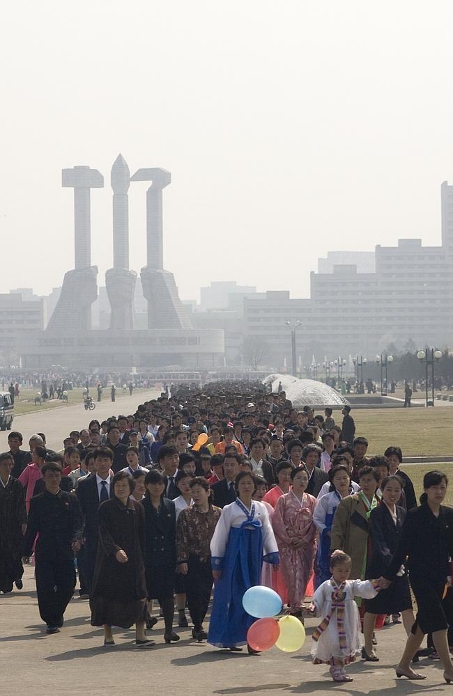 29 foto's van Noord-Korea waarvan Kim Jung-un niet wil dat je ze ziet | Flabber
