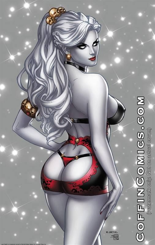 A Lady Death image I stared awhile ago and decided finally finish up. Body: brainteddy.deviantart.com/art/… Face: www.shutterstock.com/pic.mhtml… Hair: www.shutterstock.com/pic.mhtml&...