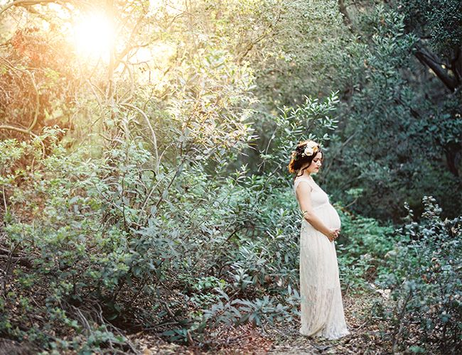 This shoot was captured by Jen from Fondly Forever, who worked her magic in both film and digital to perfectly capture the couple's first pregnancy (not to mention the stunning lighting)