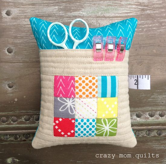 crazy mom quilts: a pincushion party!