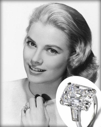 HA! i wish.... Grace Kelly and her famous cartier engagement ring