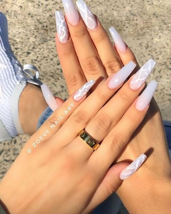 Cool Ideas Of Long Nail Designs For 2020 In 2020 Cute Acrylic Nail Designs Summer Acrylic Nails Best Acrylic Nails