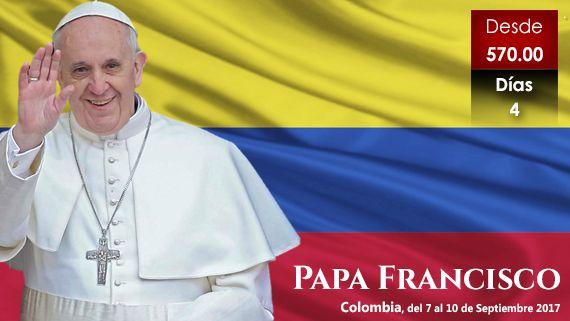 Papa Francisco en Colombia