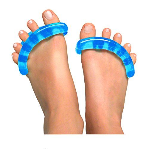 Original YogaToes - Extra Small Sapphire Blue: Toe Stretcher & Separator. Fight Bunions, Hammer Toes, Foot Pain & More!. For product & price info go to:  https://beautyworld.today/products/original-yogatoes-extra-small-sapphire-blue-toe-stretcher-separator-fight-bunions-hammer-toes-foot-pain-more/