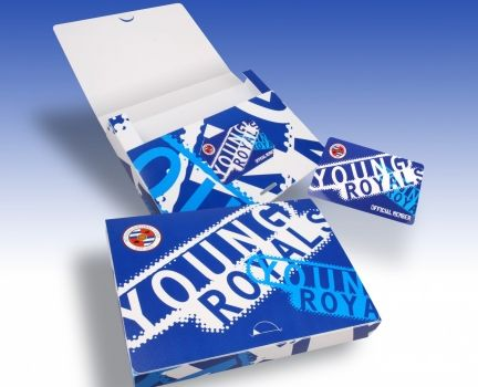 Reading Football Club Young Royals Season Ticket Wallet - a creative packaging solution produced by Cedar Packaging