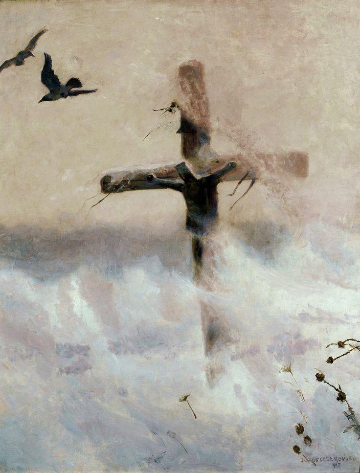 каждый крест в картинах художников стену