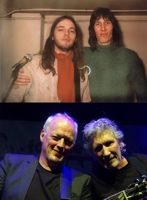 David Gilmour & Roger Waters (part of Pink Floyd)