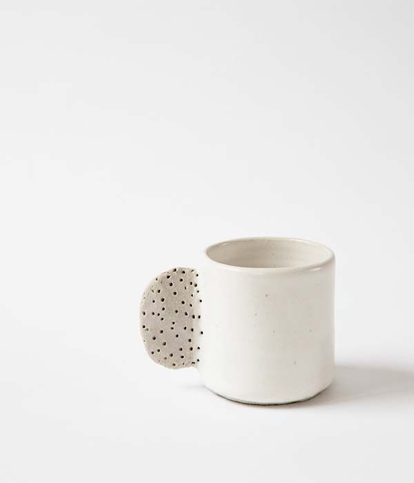 // bridget bodenham | ceramic mugs - white | otis & otto