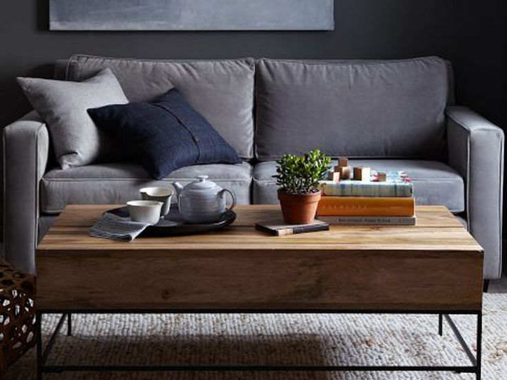 Design with Rustic Storage Table